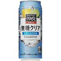 -196℃ゼロドライ 無糖クリア レモン&ライム/サントリー 500ml缶 500ML × 24本