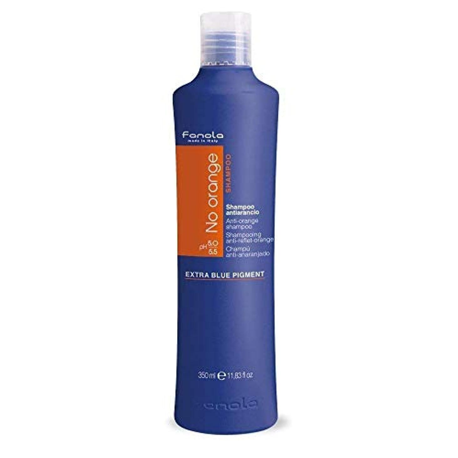 長さうねる有効Fanola No Orange Shampoo 350 ml  青カラーシャンプー ノーオレンジ シャンプー 海外直送 [並行輸入品]