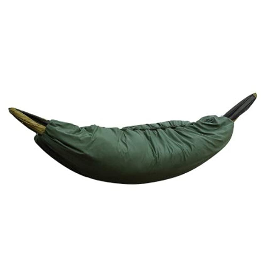 膜ロイヤリティモードリンLYgMV キャンプ寒さと快適なシングルハンモック暖かいカバー秋と冬の封筒綿ハンモック寝袋