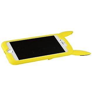 グルマンディーズ ポケットモンスター iPhone 7対応 シリコンケース ピカチュウ poke-556a