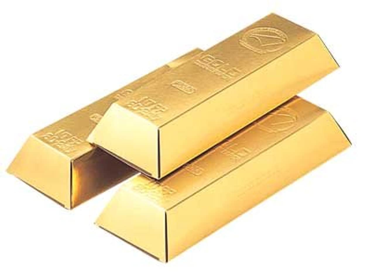 マーキング動かないショップ金塊にそっくり?! でも中身はティッシュ ゴールドティッシュ 60枚(30組) 200入(2合)