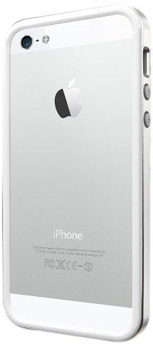 国内正規品SPIGEN SGP iPhone5/5S ケース ネオ・ハイブリッド EX スリム メタルシリーズ [サテンシルバー] SGP10033
