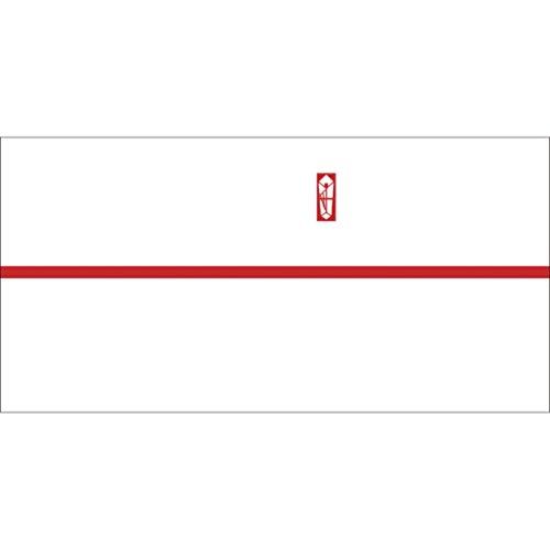 OA対応のし紙 熨斗紙 豆判7号 赤棒 京 2-677 1セット 1000枚:100枚×10冊