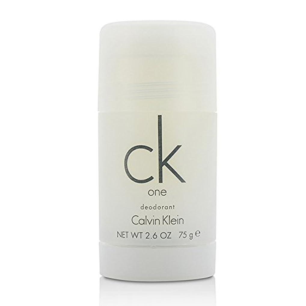 背が高いセマフォ矛盾するカルバンクライン(Calvin Klein) シーケーワン(CK ONE) デオドラントスティック 75ml/2.5oz[並行輸入品]
