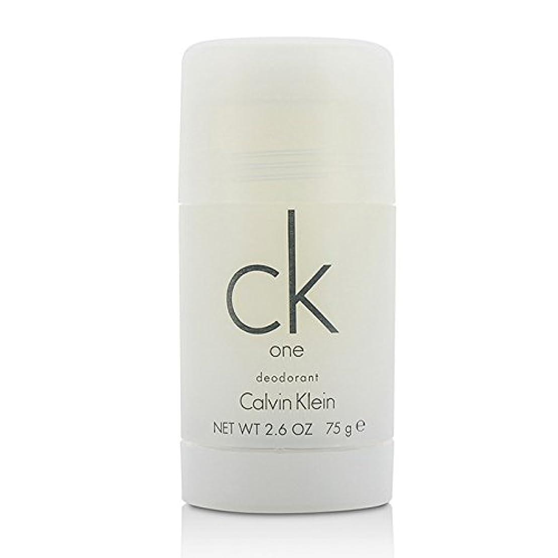 ナサニエル区ゆり重量カルバンクライン(Calvin Klein) シーケーワン(CK ONE) デオドラントスティック 75ml/2.5oz[並行輸入品]