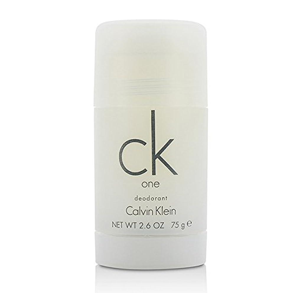 サーバ広まったコートカルバンクライン(Calvin Klein) シーケーワン(CK ONE) デオドラントスティック 75ml/2.5oz[並行輸入品]