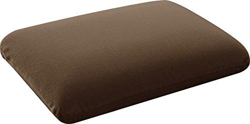 ottostyle.jp 高反発枕 ブラウン ラテックス調 Sサイズ 約 幅54.6cm×奥行34.8cm×高さ11.4cm
