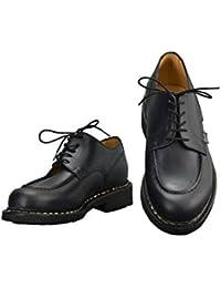 [パラブーツ] シャンボード CHAMBORD 名靴Uチップ&オイルドレザーシューズ ネイビー