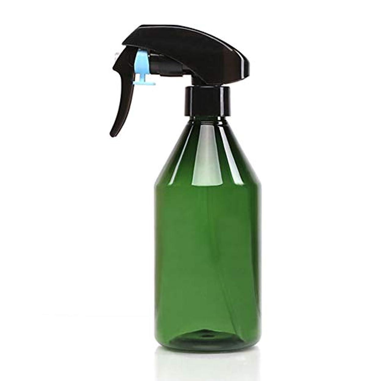 シールド天才足音超微細なスプレーボトル、300ミリリットル多目的ヘアーサロン理髪店ヘアスプレーボトル家庭用美容スプレーツール,グリーン