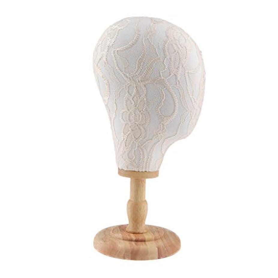 SM SunniMix マネキンヘッド ディスプレイ 帽子 ハット ウィッグ 収納 スタンド 展示ラック 4タイプ選べ - ホワイトスタンド