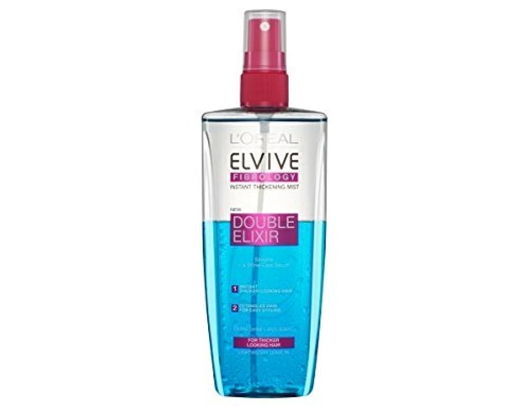 木材明らかロードブロッキングL'Oreal Elseve Fibralogy/Elvive Fibrology Double Elixir Express Balsam 200 ml / 6.7 oz by Elseve