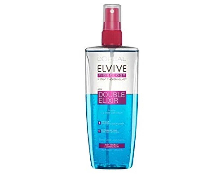 移植スキャン残高L'Oreal Elseve Fibralogy/Elvive Fibrology Double Elixir Express Balsam 200 ml / 6.7 oz by Elseve