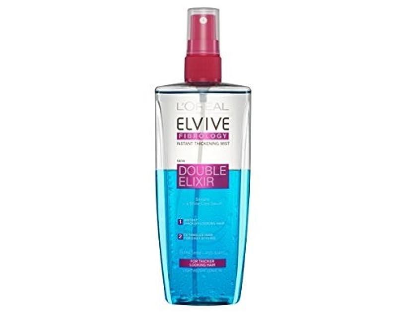 おとうさん感謝祭ブリーフケースL'Oreal Elseve Fibralogy/Elvive Fibrology Double Elixir Express Balsam 200 ml / 6.7 oz by Elseve