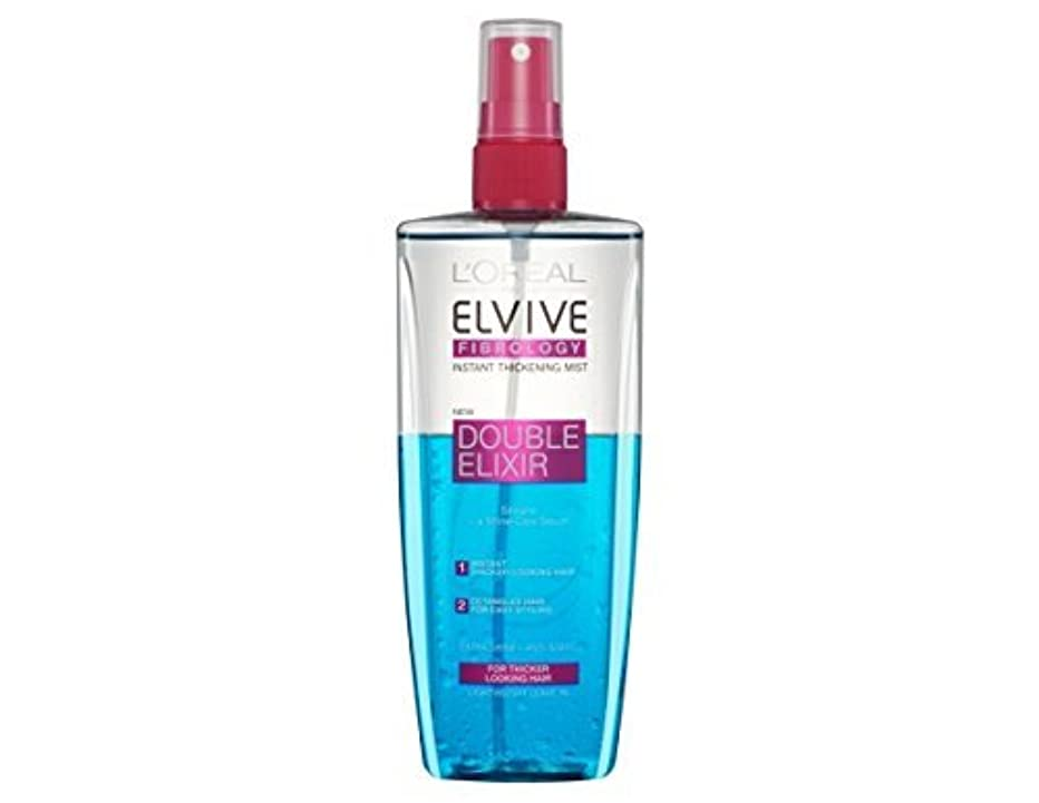 アマチュア実験をするフォローL'Oreal Elseve Fibralogy/Elvive Fibrology Double Elixir Express Balsam 200 ml / 6.7 oz by Elseve
