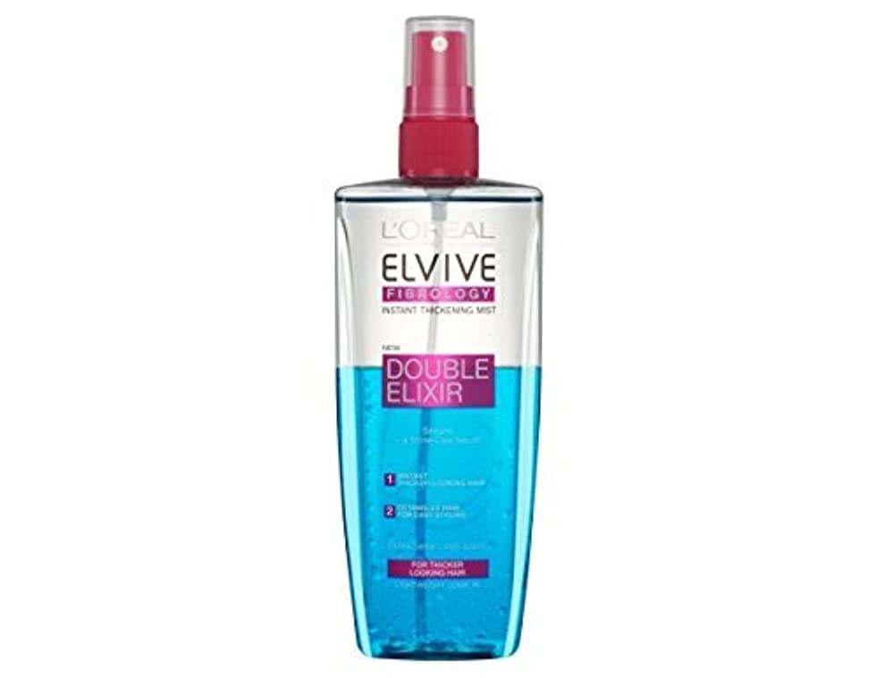 間隔わずかな拷問L'Oreal Elseve Fibralogy/Elvive Fibrology Double Elixir Express Balsam 200 ml / 6.7 oz by Elseve