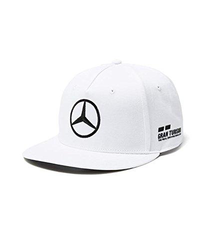 【 Mercedes AMG 】メルセデス AMG ペトロナス F1 Team 2018 オフィシャル レプリカ CAP ルイス・ハミルトン (ホワイト/フラット)