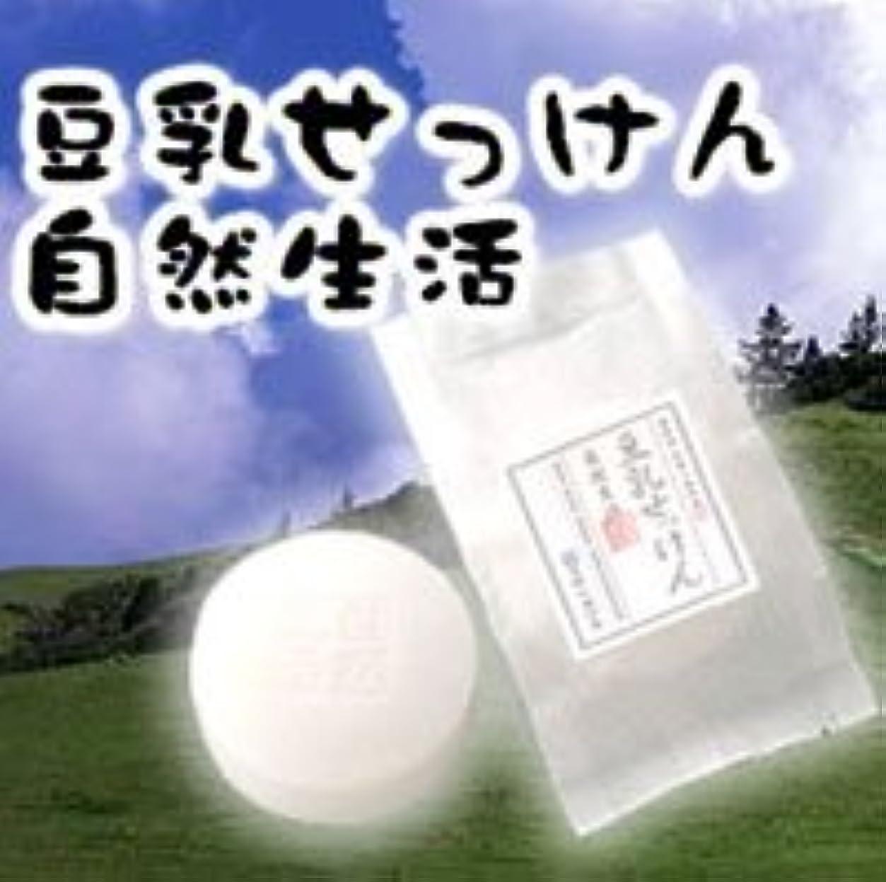 こっそりモバイル触覚豆腐の盛田屋 豆乳せっけん 自然生活