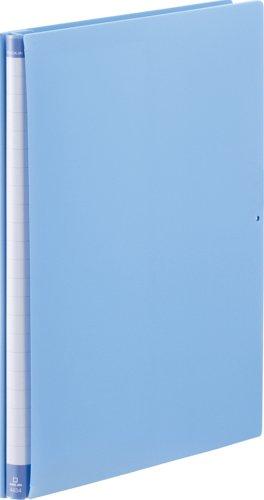キングジム 背幅伸縮ファイル クイックイン A4S 4434 青