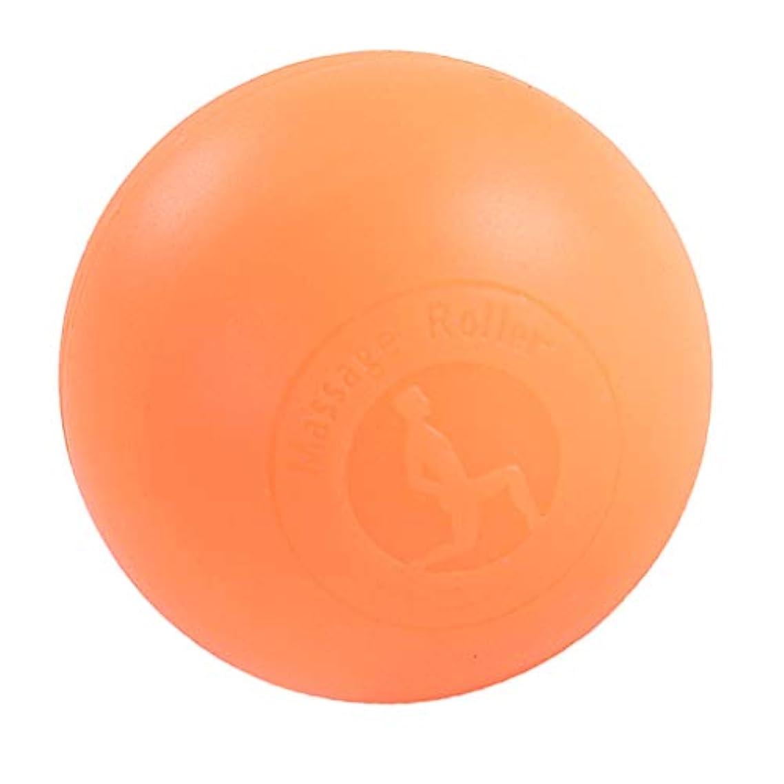 不安定農奴材料Baoblaze ラクロスマッサージボール ボディマッサージャー トリガーマッサージ ポイントマッサージ 2色選べ - オレンジ