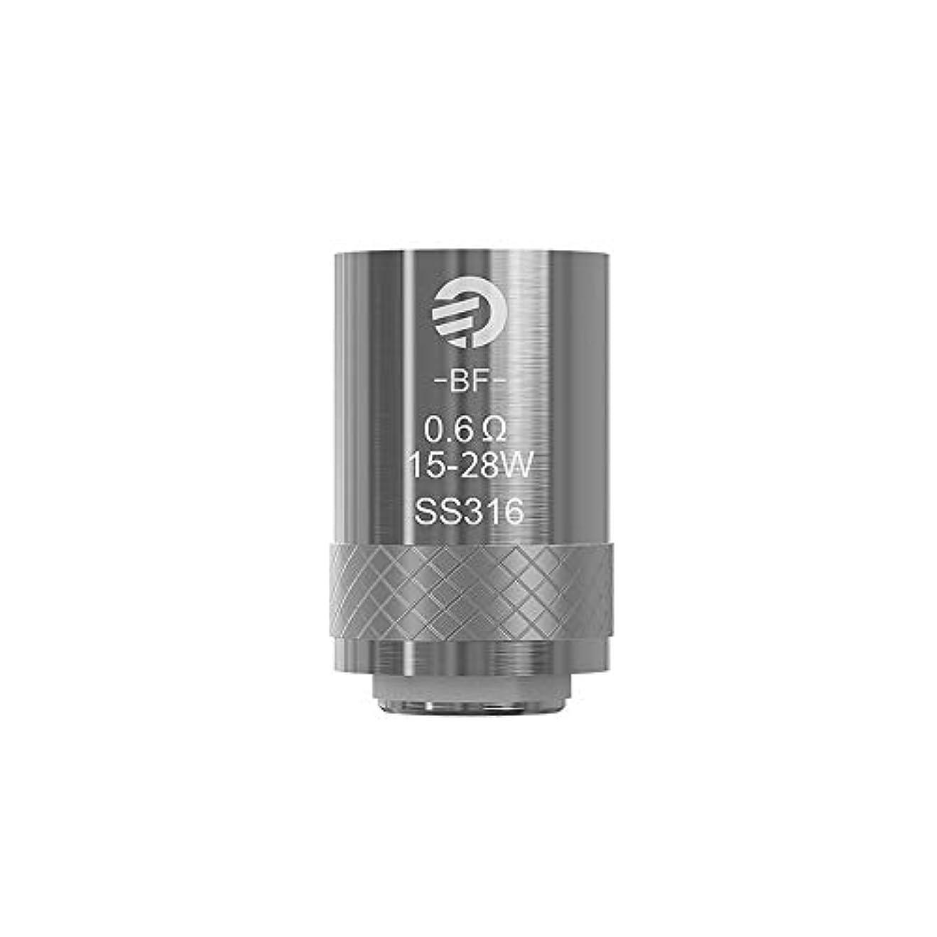 バウンド立ち向かう約設定Joyetech ジョイテック コイル BF Atomizer Head 0.6Ω 1箱5個入り 【正規輸入品】