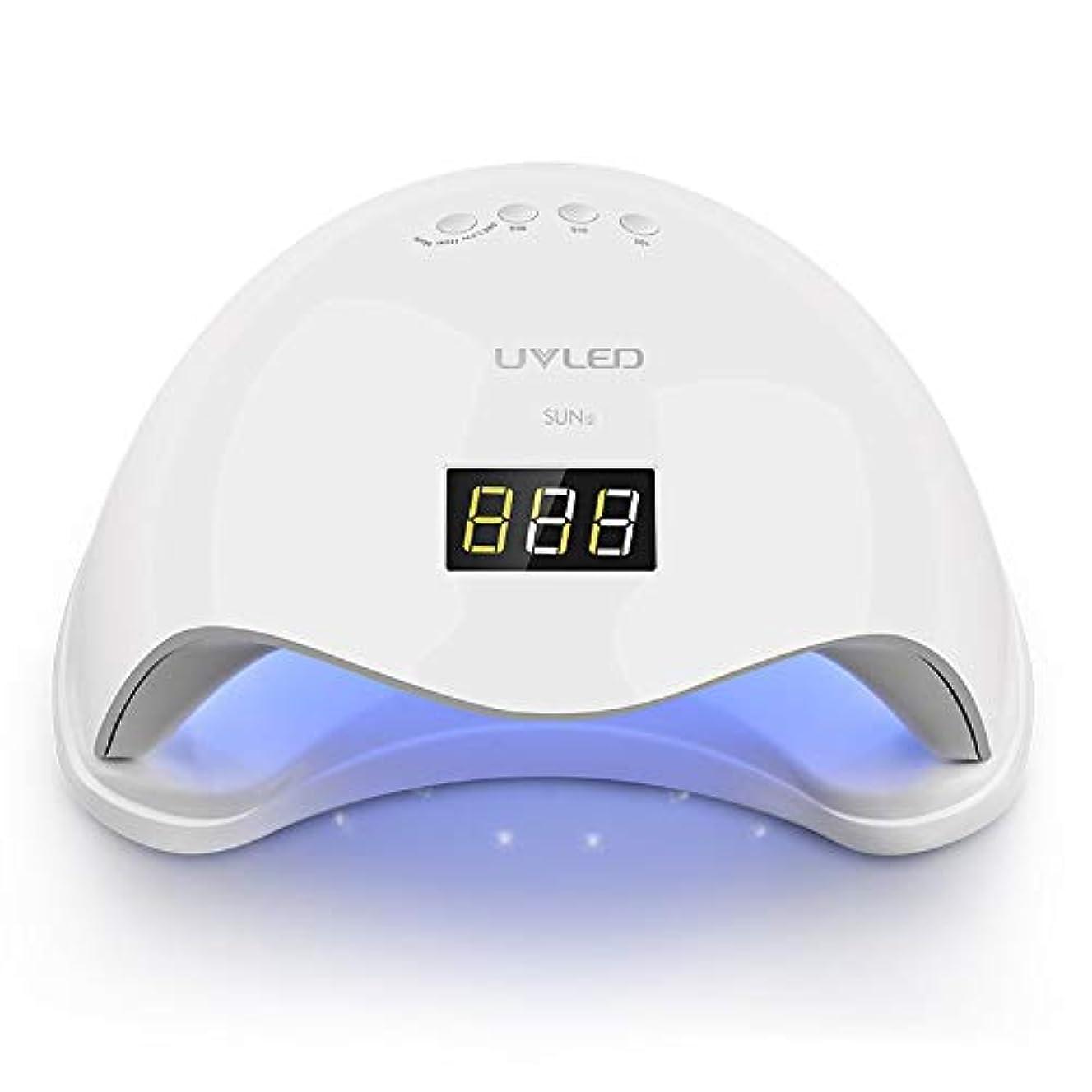 柱拍手赤外線48W USB UV LEDネイルライトネイルドライヤー硬化ゲルポーランド、インテリジェント自動センサー3タイマー設定
