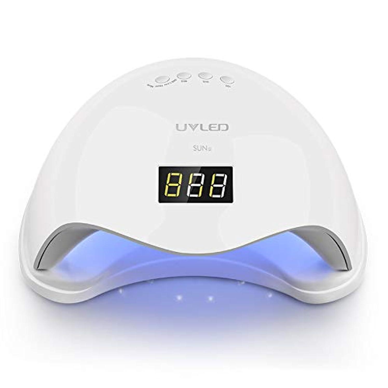 48W USB UV LEDネイルライトネイルドライヤー硬化ゲルポーランド、インテリジェント自動センサー3タイマー設定