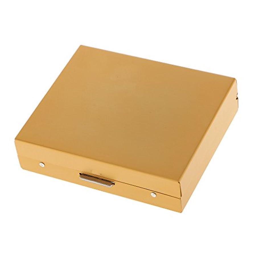 フレア礼拝エチケットBaoblaze 6面 正方形 黄金のサイコロ セット ダイス ダイスボックス アルミニウム合金 5個入り