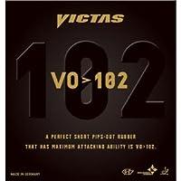 ヤマト卓球 VICTAS(ヴィクタス) 表ソフトラバー VO>102 020222 レッド MAX 〈簡易梱包
