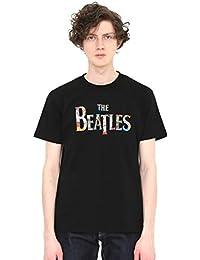 (グラニフ) graniph ザ ビートルズ コラボ Tシャツ チケット ロゴ (ザ ビートルズ) (ブラック) メンズ レディース (g01) (g14)