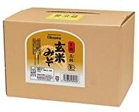 オーサワジャパン 有機JAS認定 有機立科 玄米みそ 3.6kg  ケース(2箱入り) 数量限定品