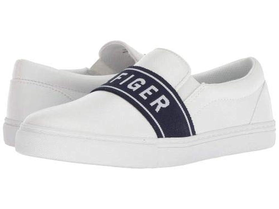 死扱うモールス信号[トミー ヒルフィガー] レディース 女性用 シューズ 靴 スニーカー 運動靴 Logane - White [並行輸入品]