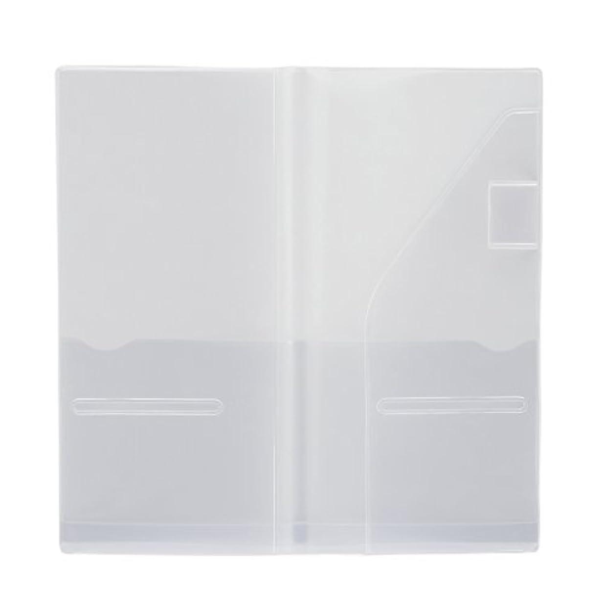 ナプキン湿原どうやらプラス メモ帳 ノートカバー カ.クリエ A4×1/3 カバー 1冊用 77-918