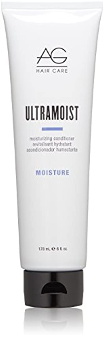 胴体クリップ難破船AG Hair Ultra Moist Moisturizing Conditioner, 6 Ounce by AG Hair Cosmetics