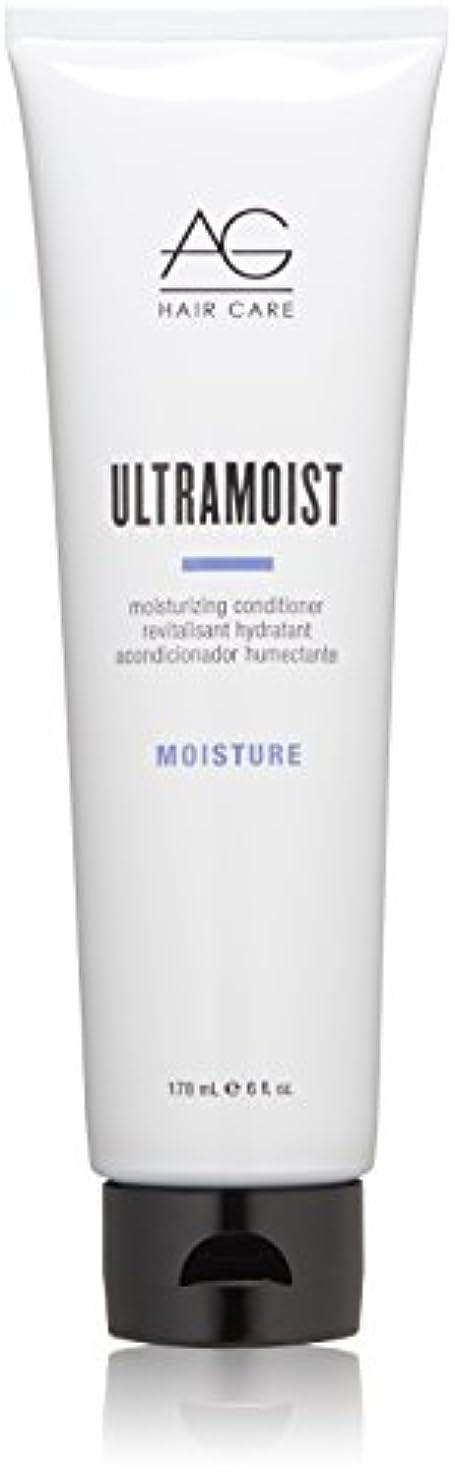 お酒精神殺人AG Hair Ultra Moist Moisturizing Conditioner, 6 Ounce by AG Hair Cosmetics