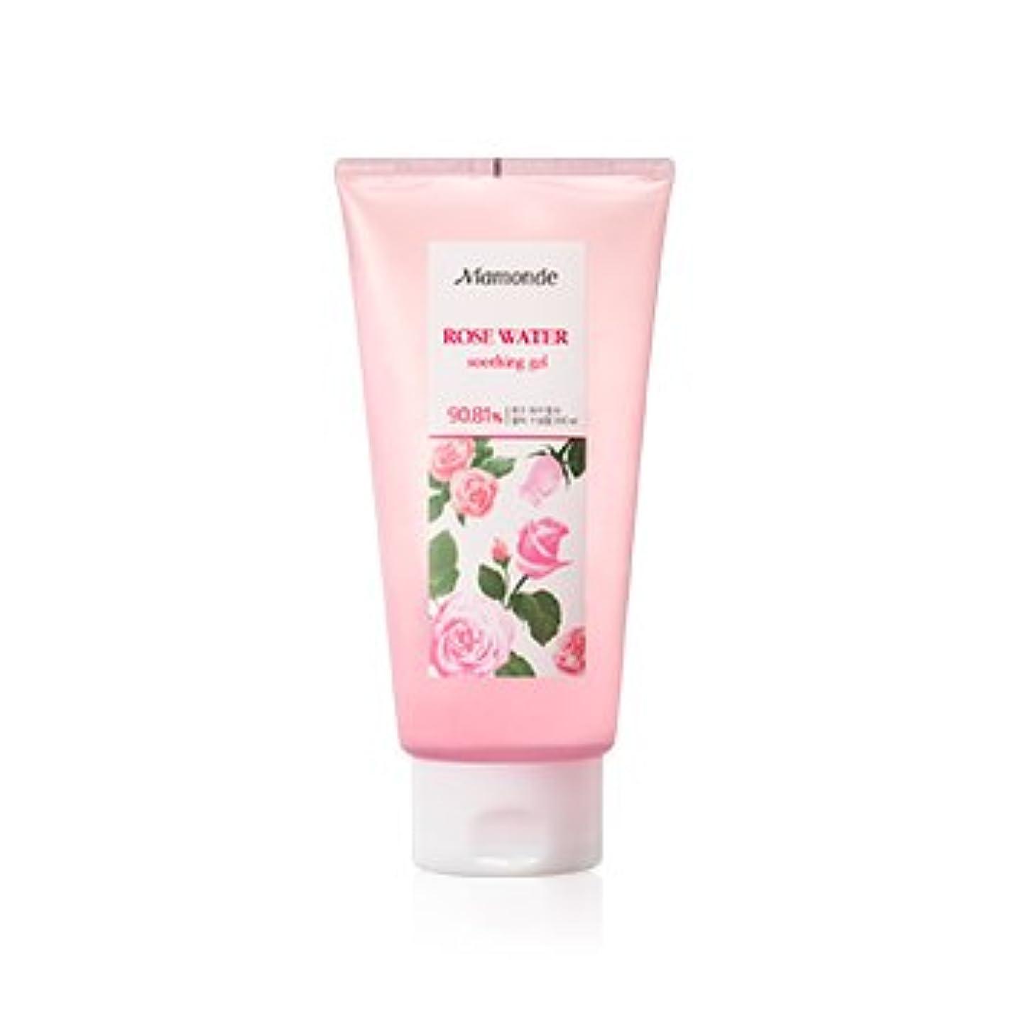 登る寄託伝統的Mamonde Rose Water Soothing Gel 300ml/マモンド ローズ ウォーター スージング ジェル 300ml [並行輸入品]