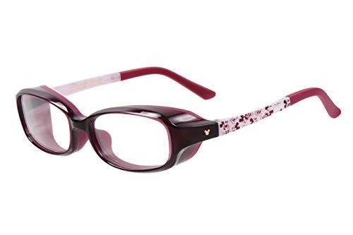 【花粉対策メガネ Zoff AIR VISOR】日常使いしやすいメガネタイプ Sサイズ Disneyモデル(スクウェア)(度なし)キッズ