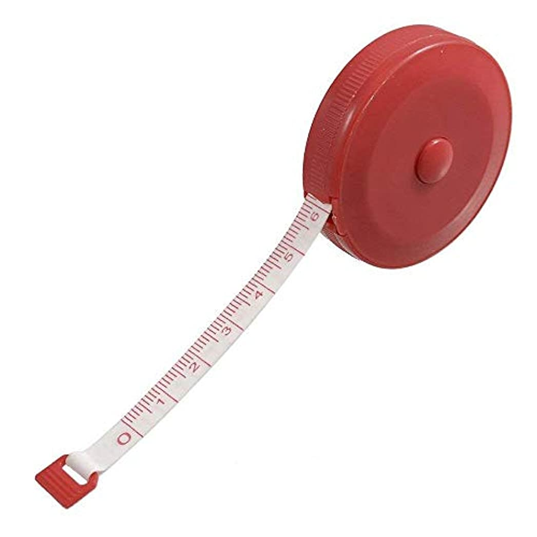 話カリキュラムアイデアOniorスケールテープ 1.5 M規格ゴムテープ 伸び縮尺 両面の回転 ボタン 巻き尺 ソフト エンジニアルーラー