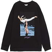 Zara Women Dirty Dancing ? Sweatshirt 4644/002 Black
