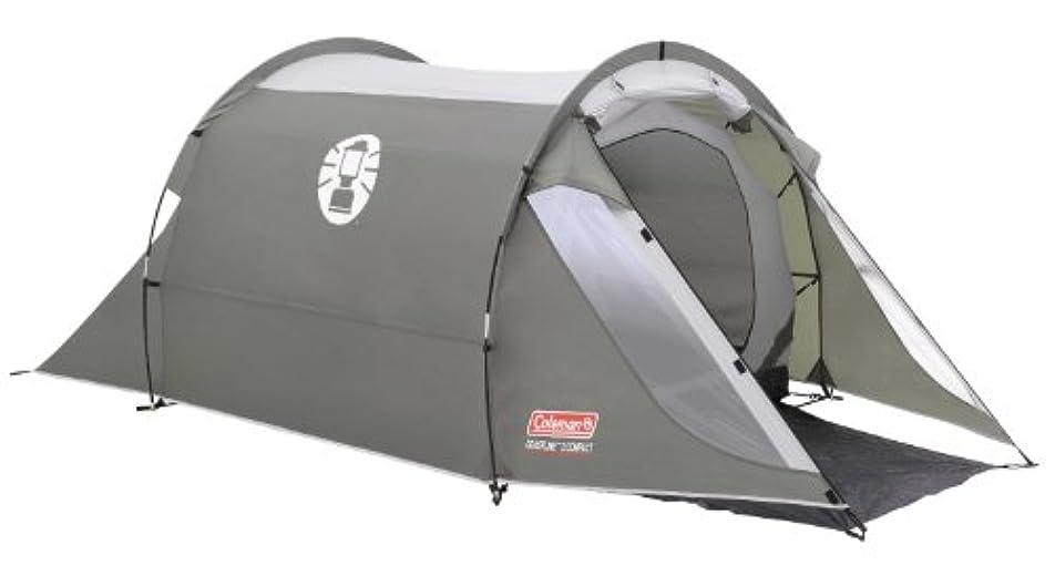 ライター味わう付き添い人Coleman Coastline 2 Compact 2 Person Tent - Green/Grey