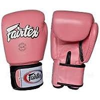 Fairtex Pink ピンク ボクシンググローブ 本革製
