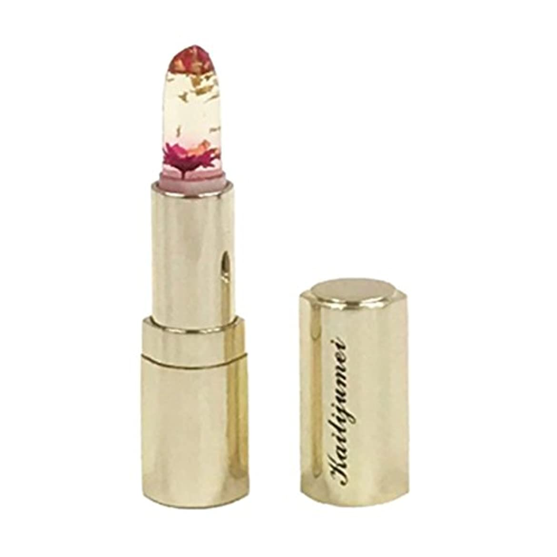 挑発する乳オペレーターkailijumei カイリジュメイ 直接購入品 フラワーリップスティック 金粉入り Flame Red レッド 03