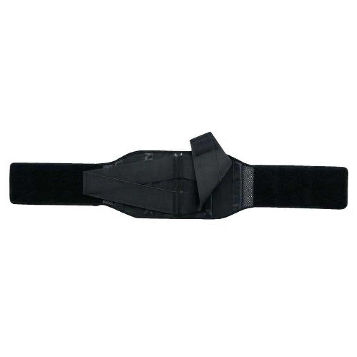 睡眠きらめくピンクランバック ブラック LL 033995 腰部固定帯 竹虎メディカル