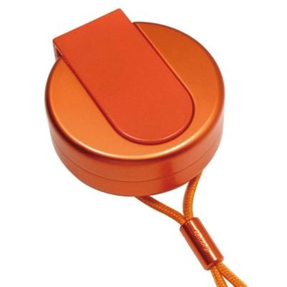 眠り前文発言するABITAX アビタックス 携帯灰皿 4301 UO アンバーオレンジ