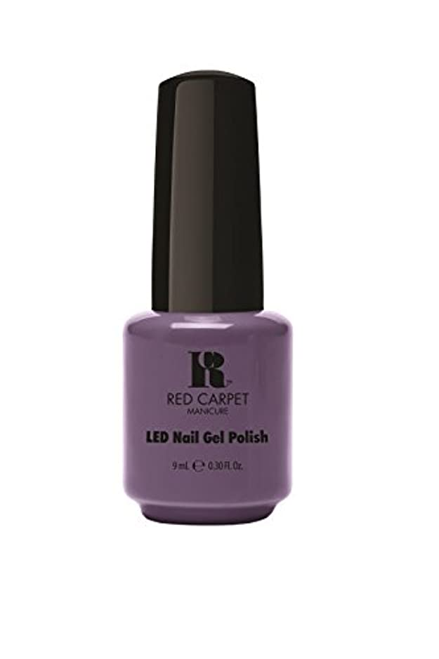 ポーズより平らなバースRed Carpet Manicure - LED Nail Gel Polish - Prim & Proper - 0.3oz/9ml