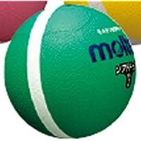 ソフトラインドッジボール1号球 緑 182-185