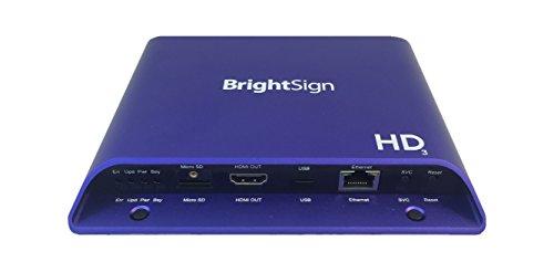 [해외]Brightsign hd1023 | 풀 HD 확장 I | O html5 Player/Brightsign hd 1023 | Full HD Extended I | O html 5 Player
