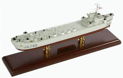 マホガニー製完成品 1/175 戦車揚陸艦 アメリカ海軍 (SCMCS021)