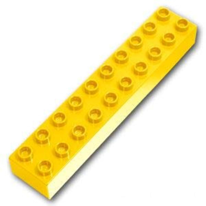 レゴブロック ばら売りパーツ デュプロ ブロック 2 x 10:[Yellow / イエロー] [並行輸入品]