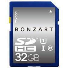 BONZART/ボンザート 32GB SDHCU1 【BONZ32GSDHCU1】 4571383311183 BONZART オリジナル SDカード 高速 一眼レフ AMPEL コンデジ 3DS メモリ CARD ブリスタパッケージ