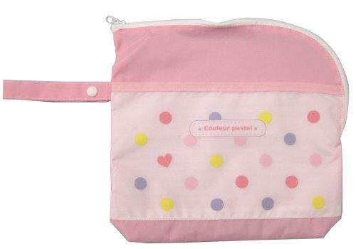 マスダビジョン おでかけ安心消臭ポーチ ピンク CPO-P01 使用済みオムツや汚れた衣類など気になる雑菌の繁殖を抑える